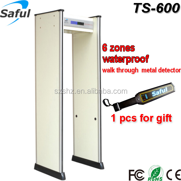 New arrival best-selling China electrical metal detectors walk through gate TS-600