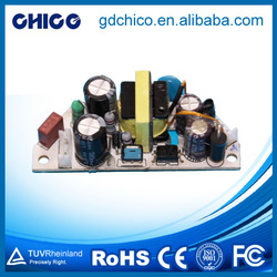 Diaphanous power supply leds