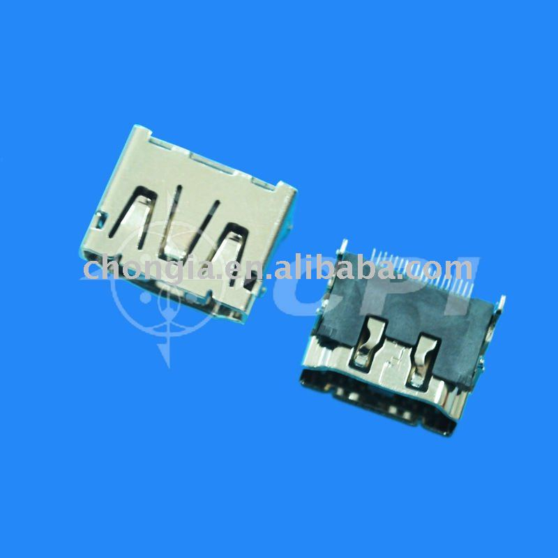 19PIN HDMI Female connector SMT type connector