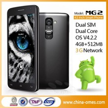 MG2 MTK 6572 Dual Core Unlocked China GSM Android Phone Cellular