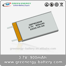 golden lion battery 623048 900mah rechargeable 3.7v lithium battery