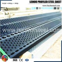 ms corrugated steel sheet dust suppression wind break mesh
