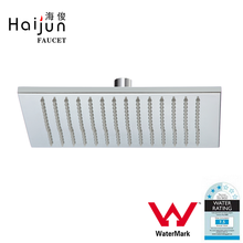Haijun Products China Wall Mounted Water Saving Square Shape Rain Shower Head