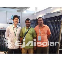 heat pipe sun collector(SRCC,CE,SOLAR KEYMARK)