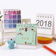 Wholesale Custom Printing Cute Mini Desk Calendar with Spiral Binding
