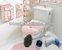 Battery operated electric toilet cleaner, toilet brush with holder