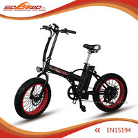 2016 electric motor bicycle china 500w 48v electric fat bike for sale