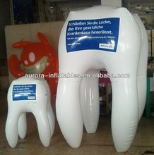 inflatable advertising tooth cartoon