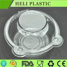 Cup type tray and plastic cake container