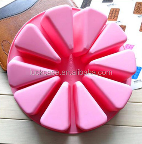 100% Food Grade Round 3D Cake Mold Silicone Mold for Cake/Silicone Wholesales Kitchenware