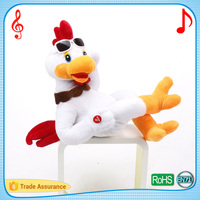Adorable electronic musical animal with custom song cartoon chicken toys and gift