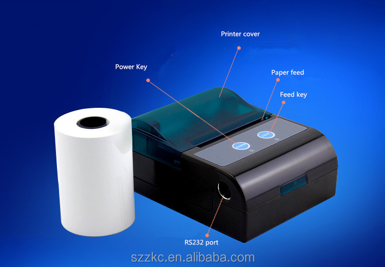 Thermal wifi printer for smartphone/PC/tablet/pda