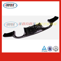 car body parts carbon fiber FOR BMW E92 3 series HM style 2006-2012 rear bumper board