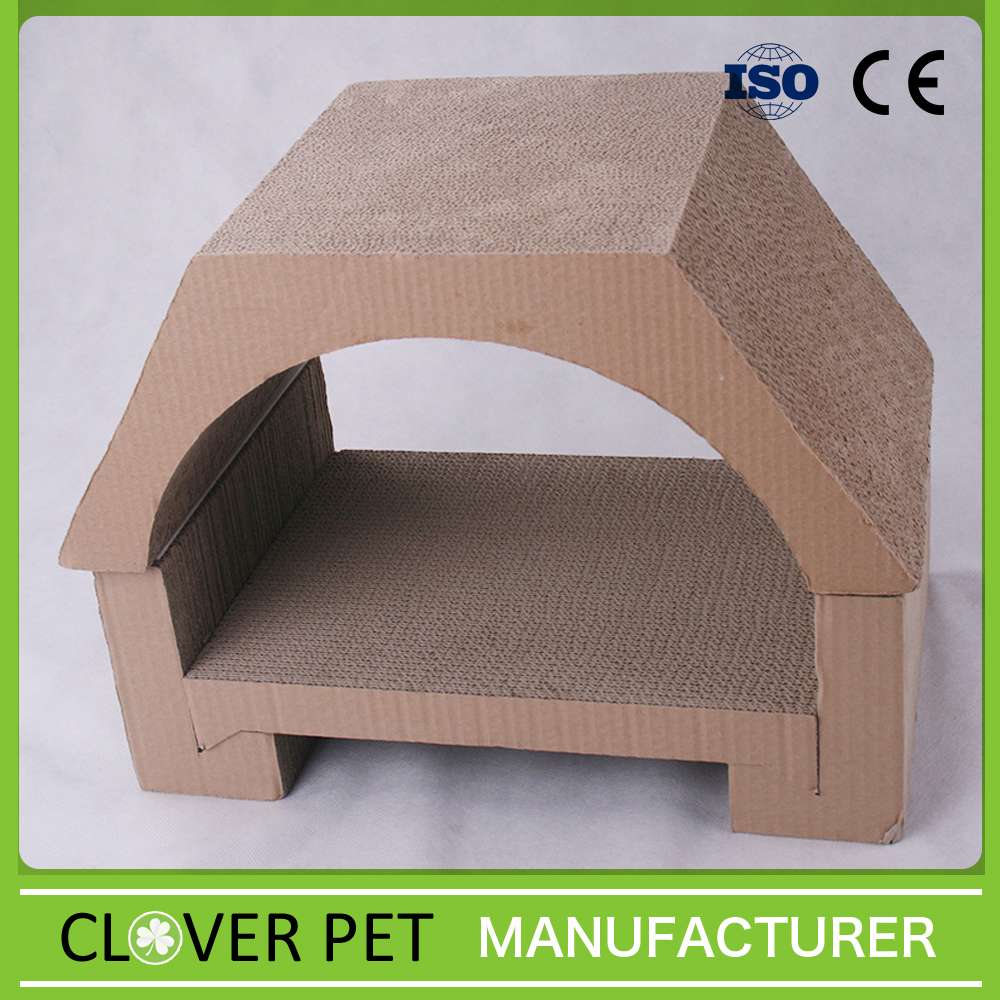 Cat House / Corrugated Cat Scratcher