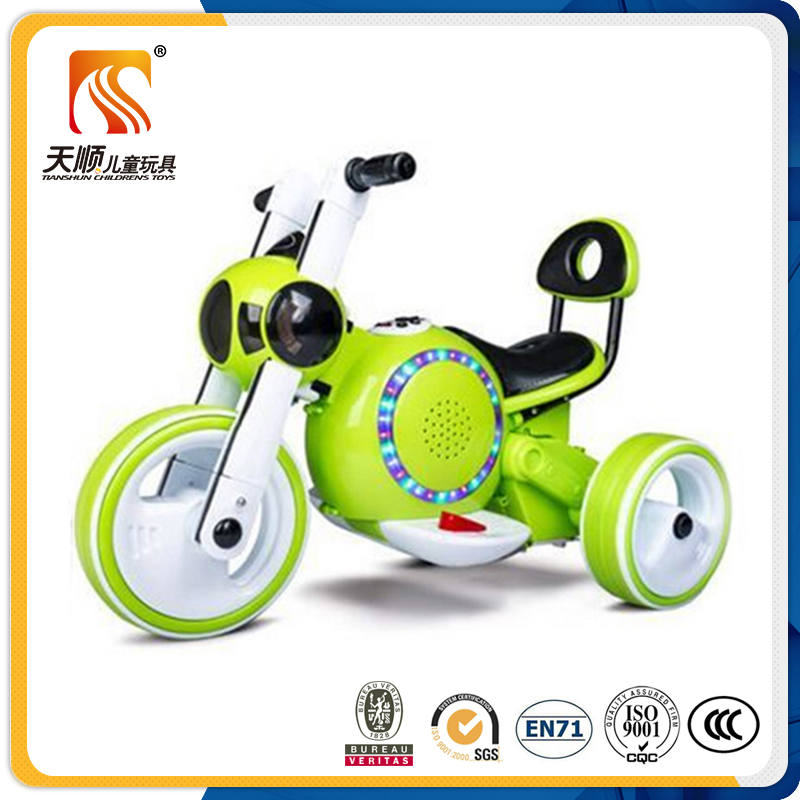 Hot model Battery operated 3 wheel mini baby electric motorcycle 3 wheel motorcycle for kids to drive