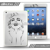 For ipad mini 3d gel skin cover
