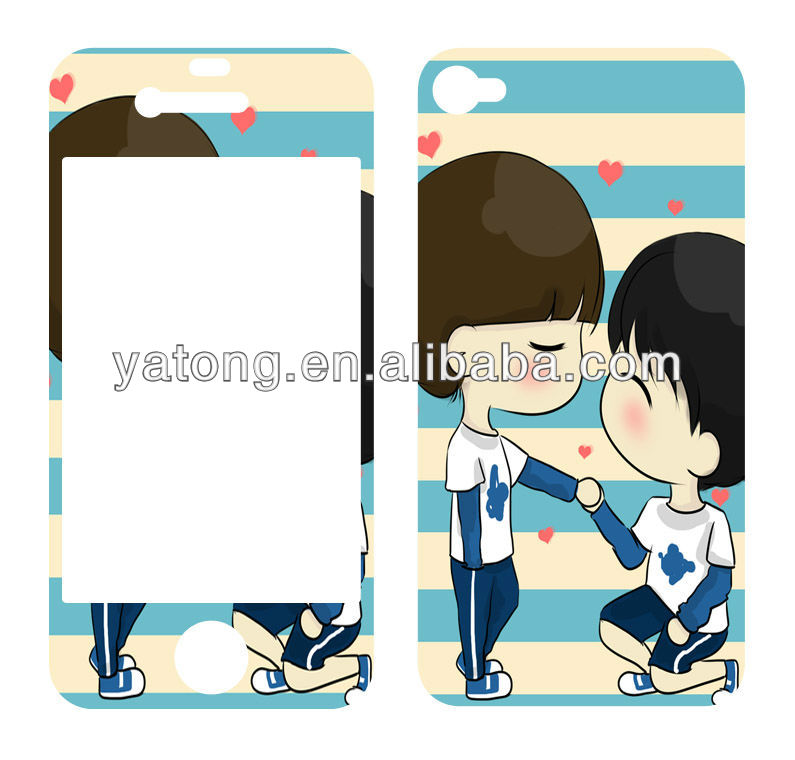 various mobile sticker,skin for IPHONE manufacturer supply