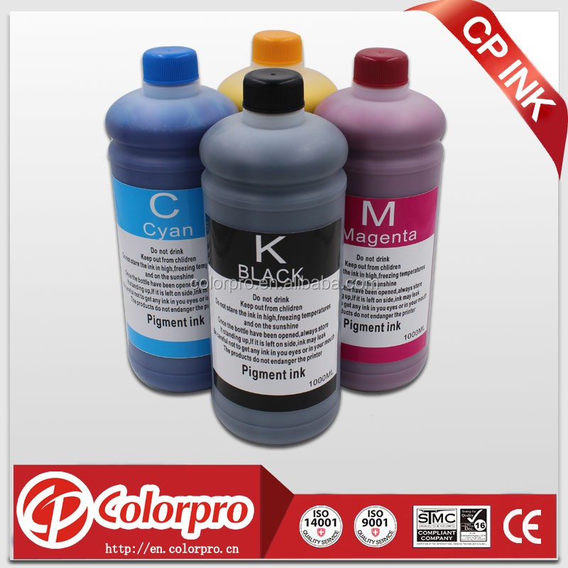 Digital printing inkjet pigment ink thermal plotter