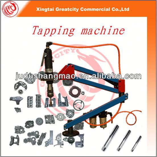 Machine to tapping the screw