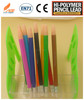 plastic colored lead mechanical pencil 2.0mm with lead sharper