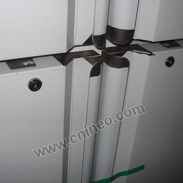 Refrigerador 36 lado a lado 22 pies cúbicos en acero
