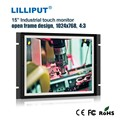 "LILLIPUT 15"" Rear Mount Monitor for Industrial application, 4:3, 1024*768"