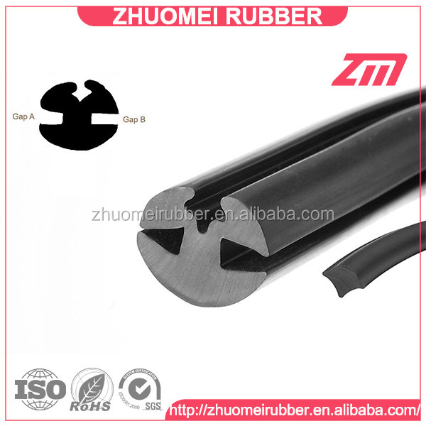 Claytonrite type window rubber with filler strip