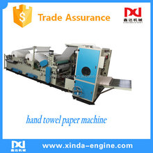N fold factory price top grade hand towel paper tissue making machine