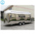 6M stainless steel electric mobile stainless steel food truck dimensions for sale
