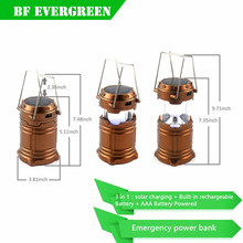 2016 Outdoor Indoor Portable 30 LED Camping Lamp /solar Tent Lantern /Campsite Hanging Lamp