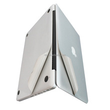Silver Full Body Sticker Cover Skins for Apple Macbook Pro 13