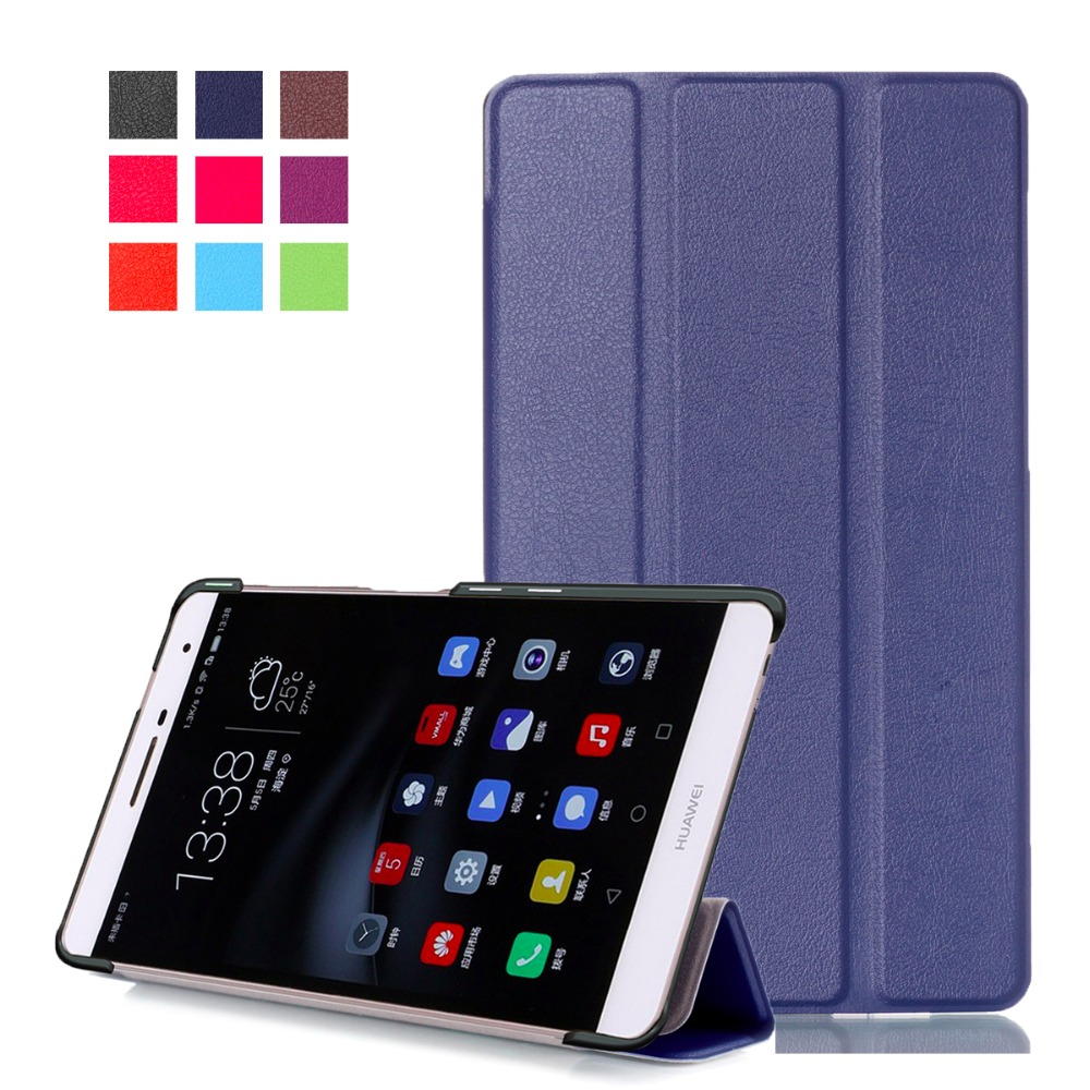 2016 Flip bookcase leather cover for huawei Mediapad M2 lite 7.0 PLE-703L 10.0 FDR-A01W tablet case