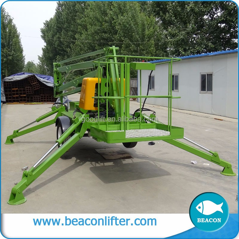 beacon hot sale pickup truck boom lift towable boom lift boom lift rental