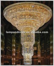 2014 Five Star Hotel crystal globe pendant lamp