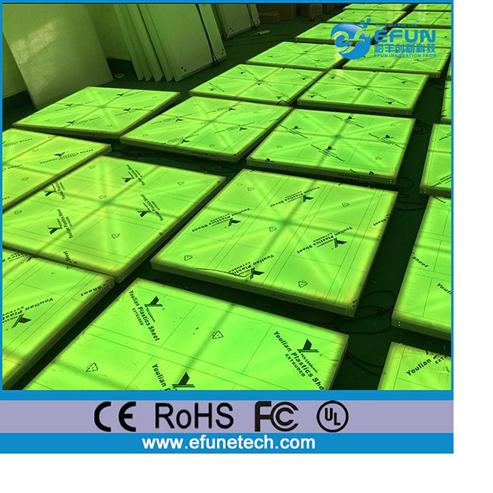 RGB 컬러 led 댄스 바닥 타일, 휴대용 판매 댄스 바닥을-LED는 빛을 ...