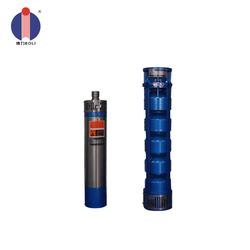 Electric submersible horizontal multistage centrifugal pump