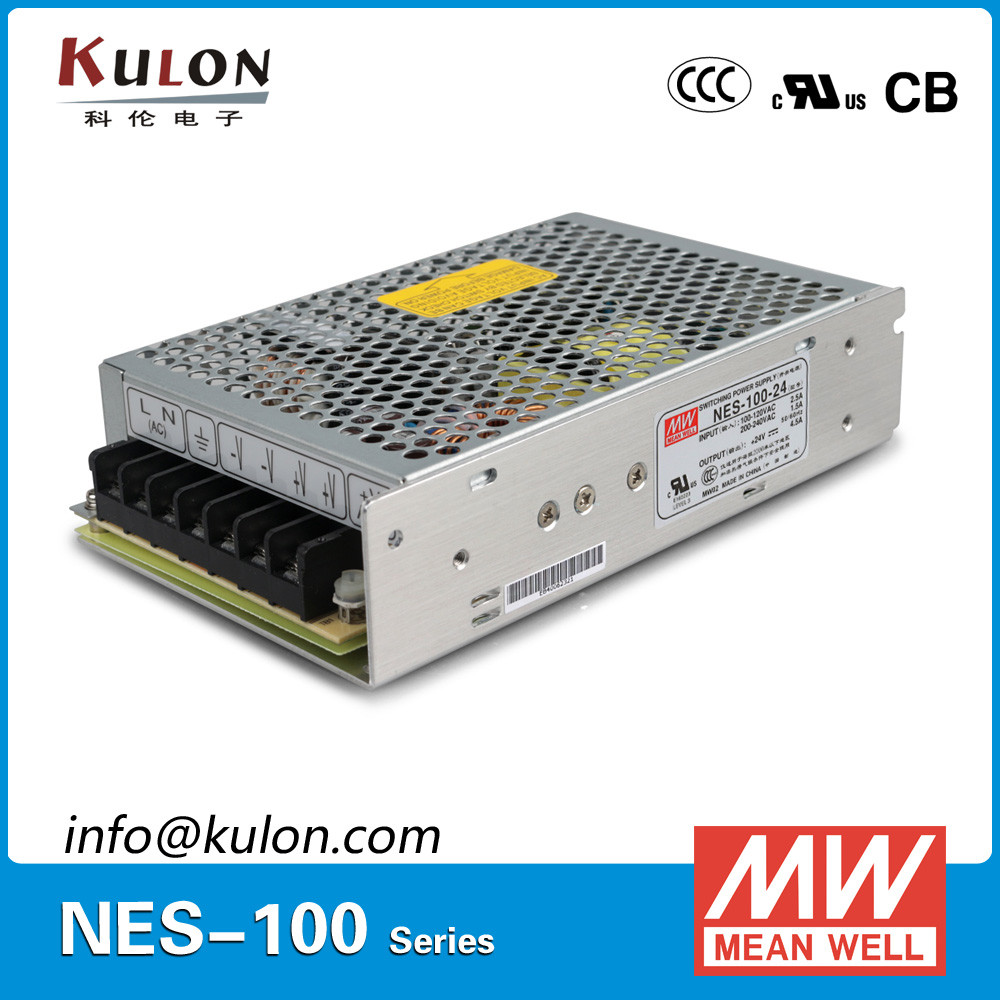 MEAN WELL 100w 15v 7a switch mode Power Supply NES-100-15 UL CE