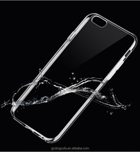 Transparent phone case mobile phone back cover case for iphone 7/6s/7plus