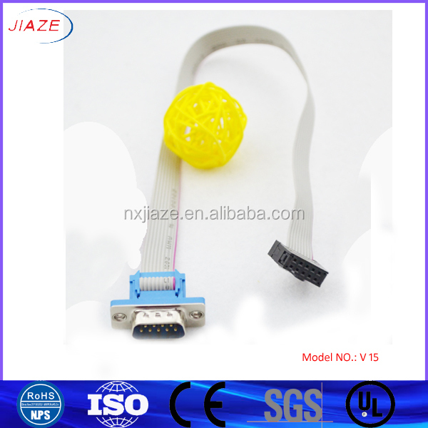 VGA TO IDC cable / VGA 9pin TO IDC10pin cable / connect TV or screen cable and PC cable