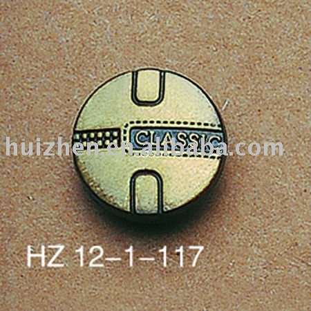 brass snap button cover