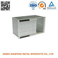Working Metal Anodized Aluminum Bus Electrical Boxes Fabrication
