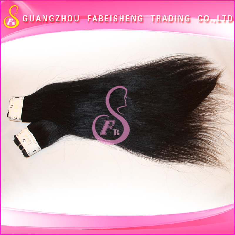 Natural color 100% unprocessed wholesale brazilian hair extensions supreme indian hair