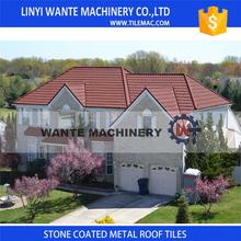 Hot Sale Africa Building steel Material Colorful Stone Coated Metal Roofing Sheets Tiles