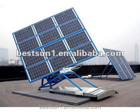 home solar systems 2000w On grid pv solar panel support