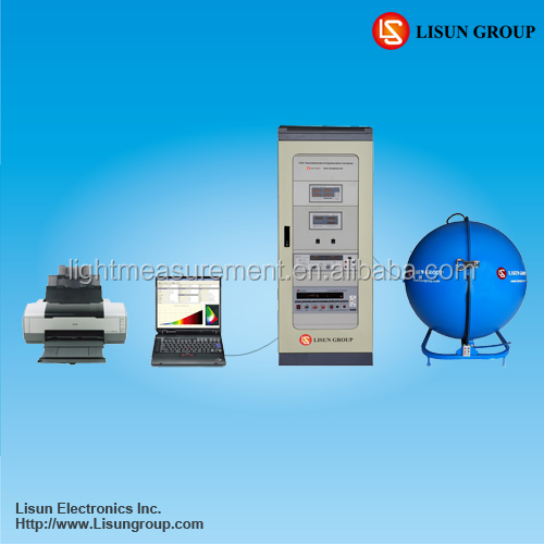 LPCE-1 Auto LED CFL Lumen Test Machine Connected with PC via USB Software for Lamps Measurement