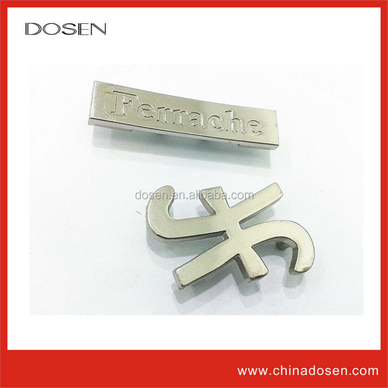 metal logo labels,designer patches for jeans,jeans pu leather patches
