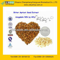 100% Pure Bitter Apricot Seed Extract Amygdalin From GMP Assessment Supplier