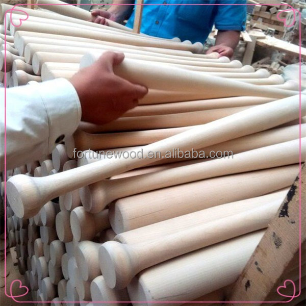 Outdoor sport different size solid wood baseball bat