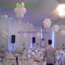 new design white drape for wedding fasion and popular