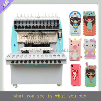 Reliable good quality plastic phone case making machine automatically